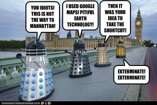 dalek doctor who funny Hall of Fame sci fi