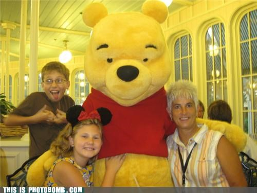 Blood disney gang Kids are Creepers Too winnie the pooh