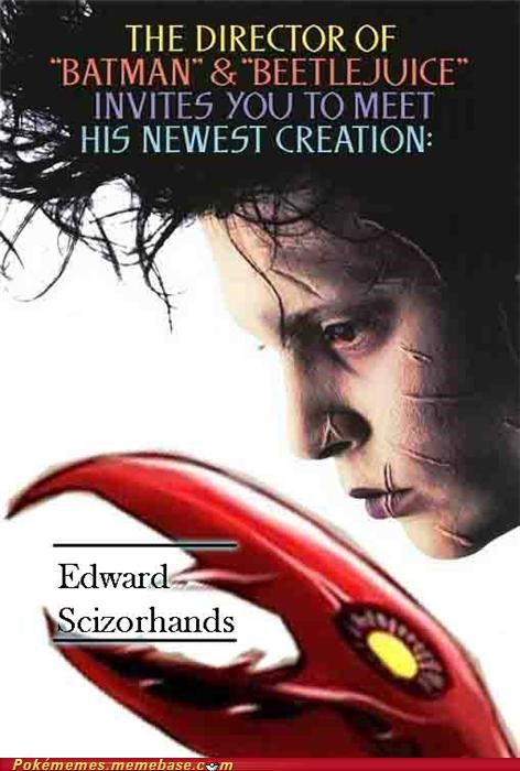 crossover,Edward Scissorhands,scizor,tim burton,tv-movies