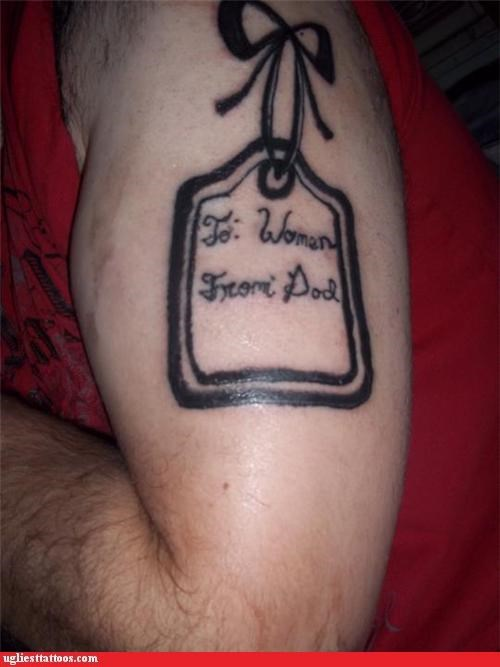 comedy tats,words