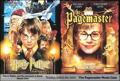 funny Harry Potter Movie the pagemaster TLL