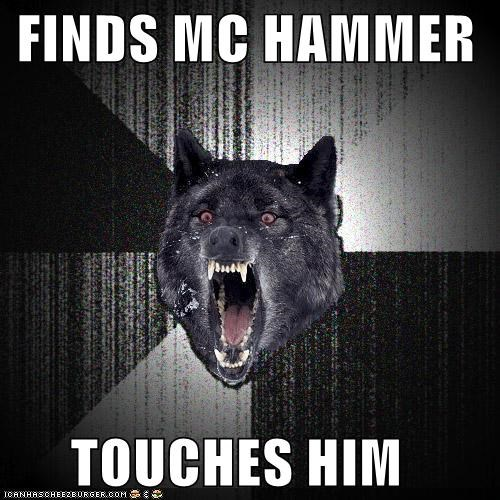 cant-touch-this insanity Insanity Wolf mc hammer Music Songs - 5033606144