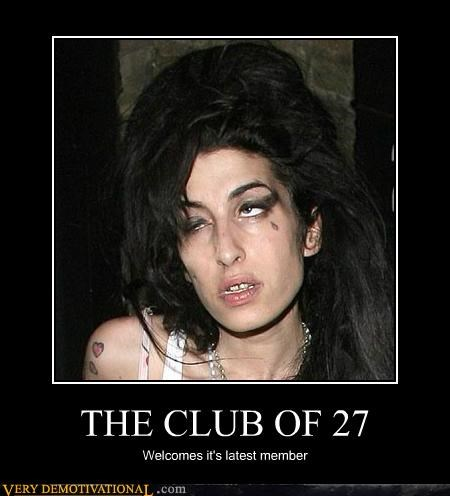 THE CLUB OF 27 Welcomes it's latest member
