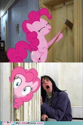 heres-johnny jack nicholson pinkie pie the shining - 5033805568