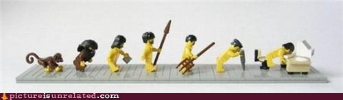 evolution,lego,wtf