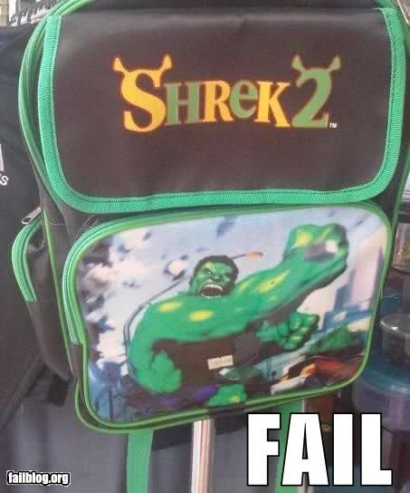 failboat g rated hulk knockoff shrek toys