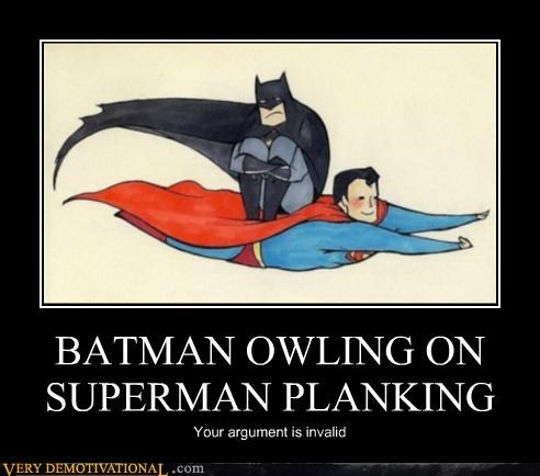 batman hilarious owling Planking superman - 5035465216