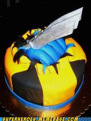 awesome,cake,delicious,food,Random Heroics,wolverine