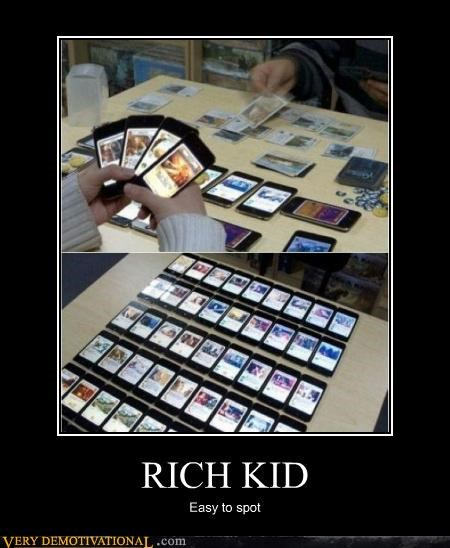 iphone,magic the gathering,Pure Awesome,rich kid