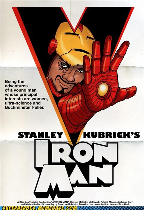 Awesome Art clockwork orange iron man stanley kubrick tony stark - 5036147456