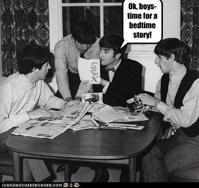 Ok, boys- time for a bedtime story!