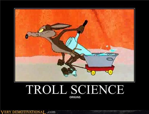 cartoons hilarious troll science wile e coyote - 5036679168