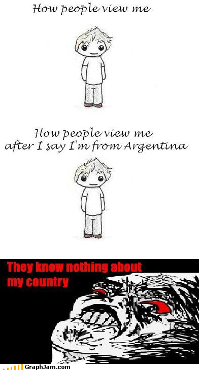 argentina,How People View Me,rage