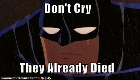 batman cry dead parents Super-Lols - 5037363456