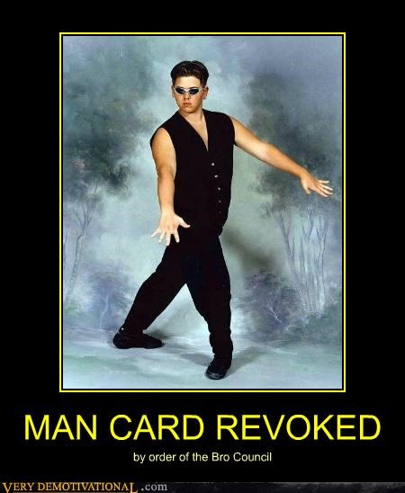 bro council hilarious jazz hands man card wtf - 5037539584