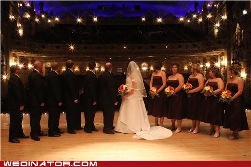bride bridesmaids funny wedding photos photo shoot - 5037691136