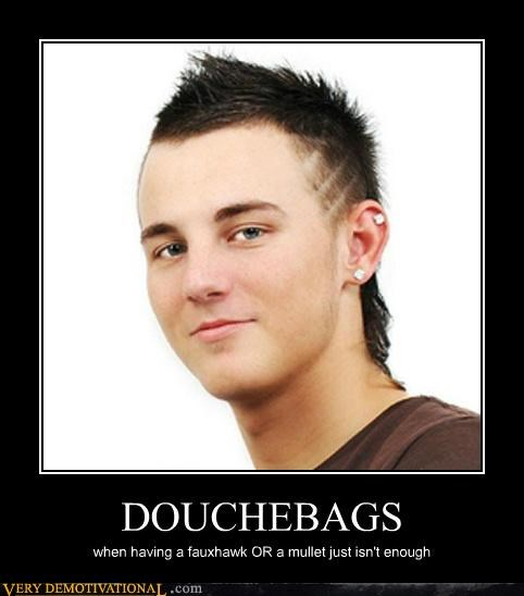 douchebag fauxhawk hilarious mullet - 5037883648