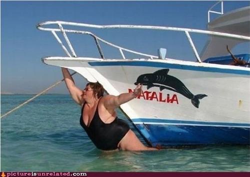 boat lady masthead wtf - 5038228480