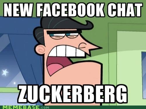 anger chat dinkleberg facebook Memes zuckerberg - 5038457856