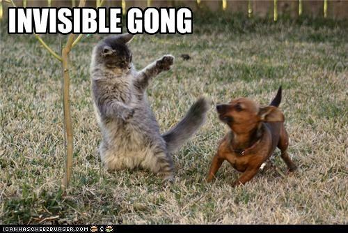 INVISIBLE GONG