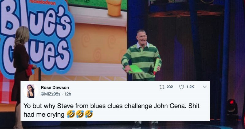 twitter news john cena ridiculous trending blues clues - 5038597