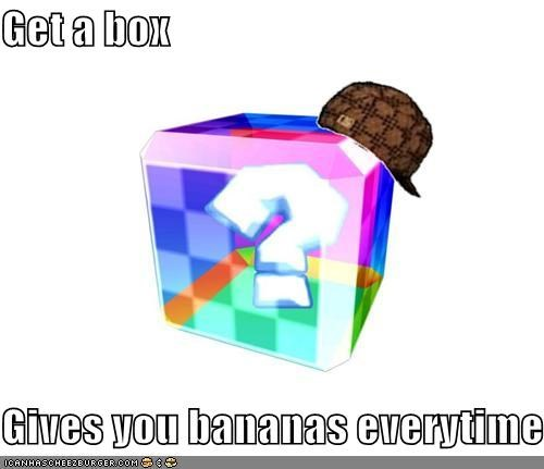 bananas,cube,kart,mario,Memes,video games