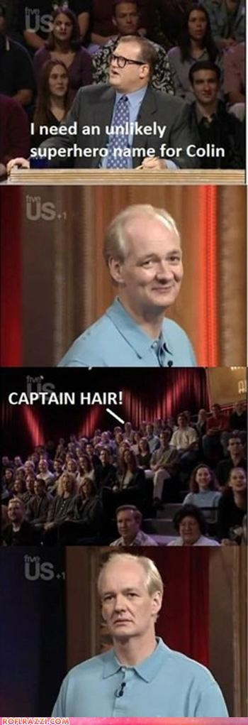 actor,celeb,colin mochrie,comedy,comic,drew carey,funny,Hall of Fame,TV,whos-line