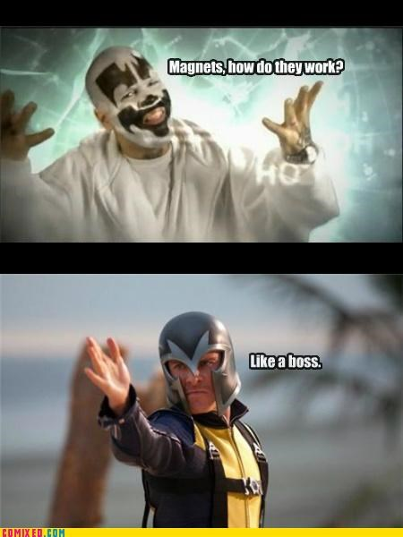 Like a Boss,Magneto,magnets,the internets,x men