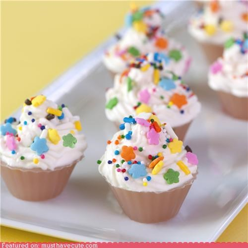 alcohol booze cupcake epicute jello shot miniature sprinkles - 5039097344