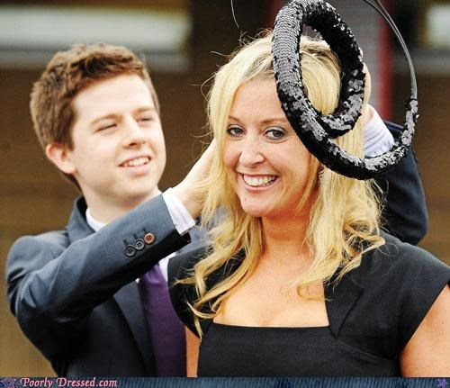 eel hats royal wedding - 5039130368