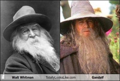 beards,classics,gandalf,hats,History Day,Lord of the Rings,poet,walt whitman,writer