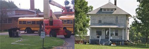 man of steel movies set photos set pics Smallville superheroes superman - 5039490304