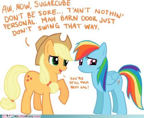 applejack lesbian rainbow dash - 5039516160