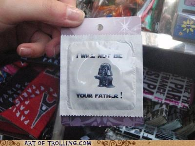 condom,darth vader,Father,IRL,protection