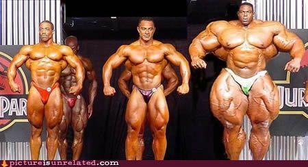 body builders legit muscles wtf - 5040189440