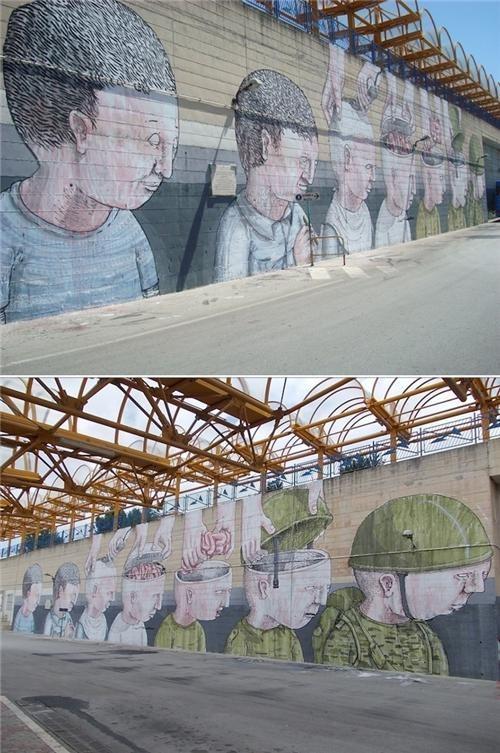 Blu,Street Art,This x That