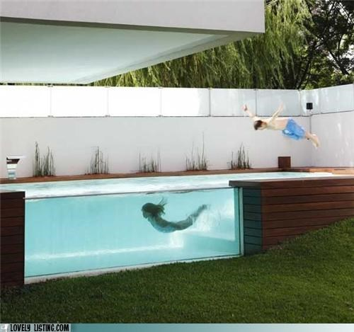 glass pool side - 5040924672