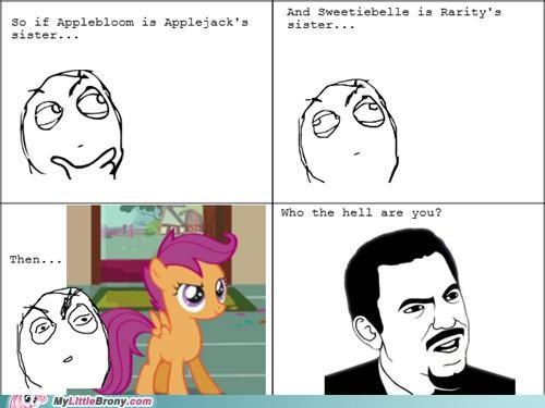 comics family rage comic Scootaloo sister who - 5040928000
