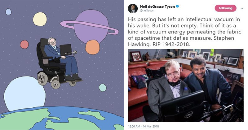 Touching tributes, stephen hawking quotes, rest in peace, obituary, stephen hawking, stephen hawking death, physics, science.
