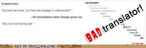 Bad Translator,intercourse,not the naughty kind,sexytimes