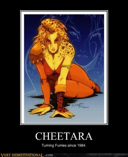 CHEETARA Turning Furries since 1984.