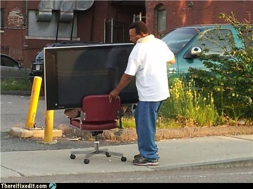 computer chair dual use moving day television - 5041896448