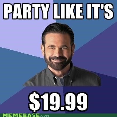 1999 Billy Mays Memes Party prices rip