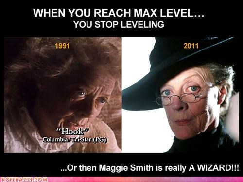 actor celeb funny Hall of Fame maggie smith sci fi - 5042236160