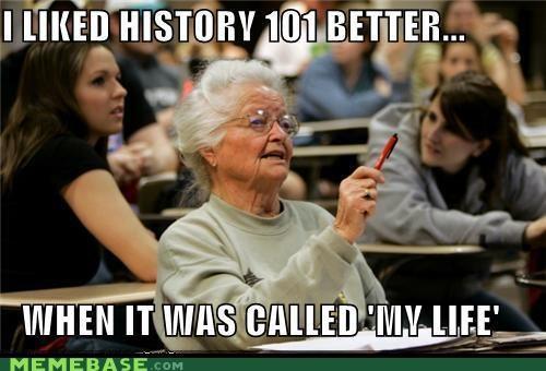 101 hipster history life Senior Freshman - 5042423040