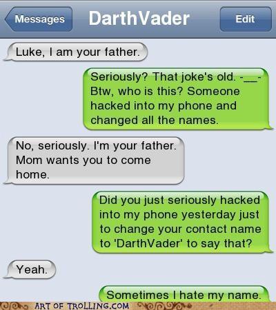 awesome Luke troll dad win - 5042445312