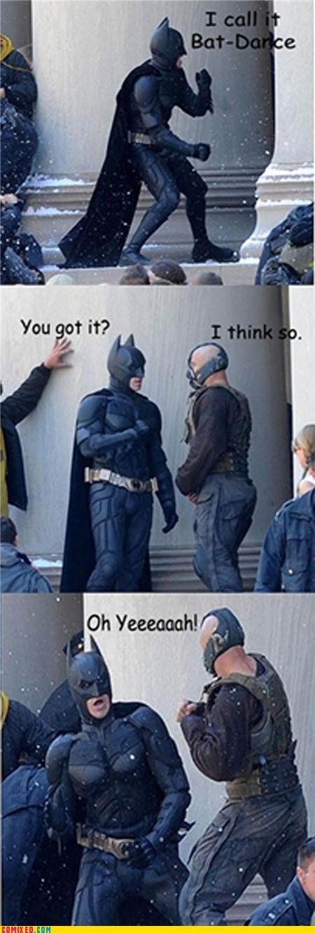 batman dance Dark Knight Rises fight From the Movies - 5042453248