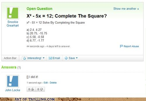 answers,math,solve,Square,Yahoo Answer Fails