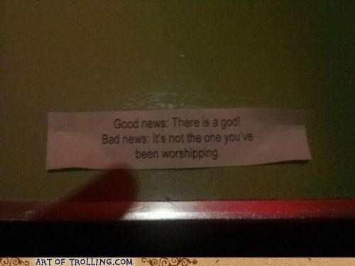 fortune fortune cookie god IRL worship - 5042600192