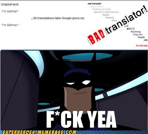 awesome batman Super-Lols translator - 5042607104